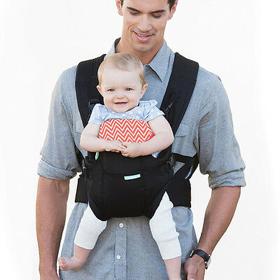 Infantino Flip BABY CARRIER Front2Back | 8 - 32 Lbs | New w/box | Black