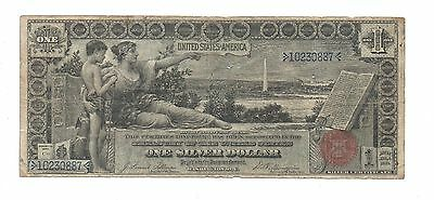 1896 United States $1. Silver Certificate. Large Paper Money