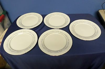 Lot of Contemporary Noritake Marywood 2181 Dinner Plates Lot#6-0250