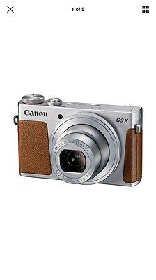 "Canon PowerShot G9 X - 20.2 Mp (3"" zoom optical 3x stabilizer digital) Silver"