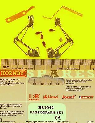 hornby international ho spare hs1042 1x two pantographs set suits hl2001