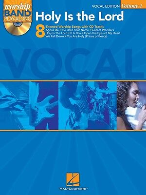 Holy Is the Lord Vocal Edition - Worship Band Play-Along Volume 1 Music Book CD
