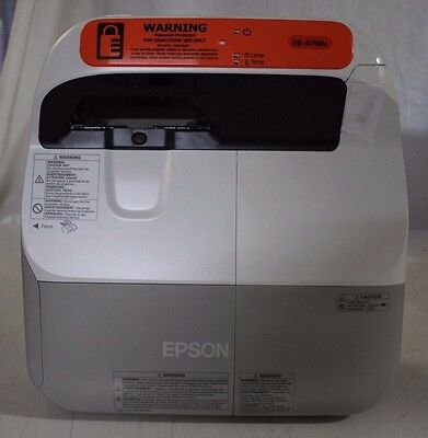 New Epson Eb-475We Multimedia 3Lcd Ultra Short Throw Projector