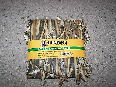 """56"""" x 12' 3D Wheat Field Camo Duck/Goose/Deer Hunting Blind Material FREE SHIP!!"""