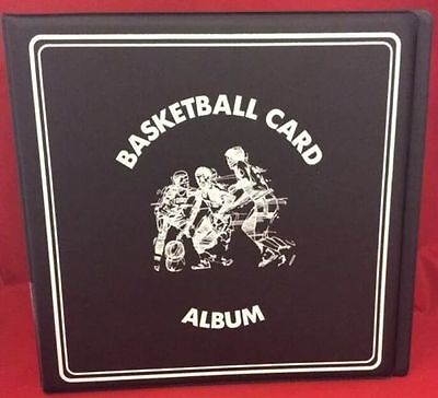 "BCW 3"" Album - Basketball - Black Case of 12 Albums"