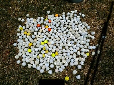 350 Golf balls assorted condition and brands