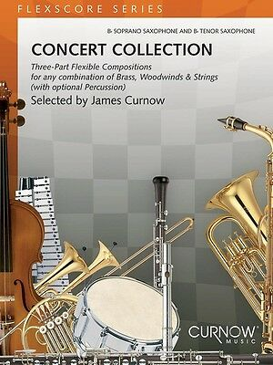 Concert Collection (Grade 1.5) - Conductor's Score Book - Bb Soprano/Tenor Sax
