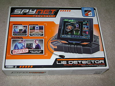 Spynet Real Tech Lie Detector...***sealed***brand New***!!!!!!!