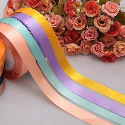 "Single Bow Sewing 3/8"" Party Bows Wrapping Wedding Ribbon Satin Handicraft"