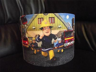 "Fireman Sam 10"" Drum Ceiling Lampshade Lightshade"