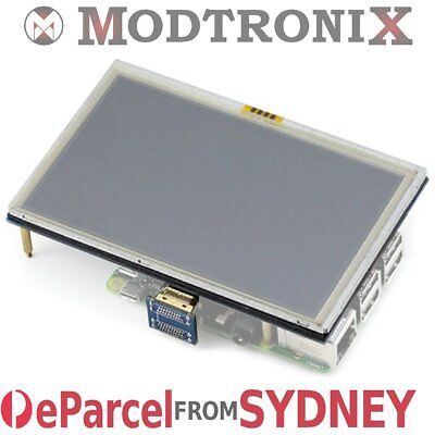 "5"" Inch LCD Touch Screen HDMI Display 800*480 Raspberry Pi 3&2, eParcel Sydney"