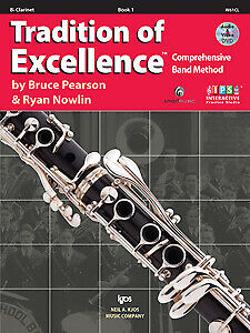 Tradition of Excellence Enhanced Book 1 - CLARINET -  W61CL - PEARSON - KJOS