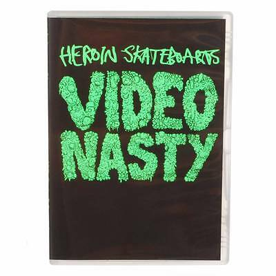 Heroin Skateboards Video Nasty Skateboard DVD