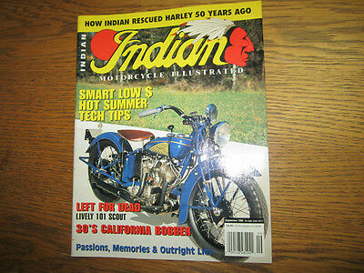INDIAN MOTORCYCLE ILLUSTRATED indian chief indian scout 741 - free uk post
