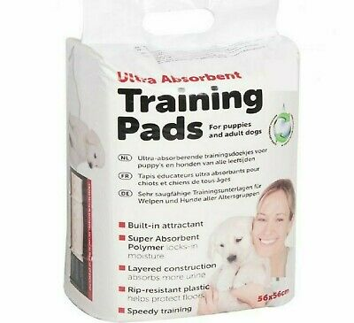 TRAINING PADS - 2 / 14 / 30 / 50 - Dog Puppy House Large Pet Toilet Mat bp Waste