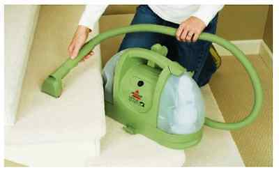 Deep Carpet Cleaner Small Green Multi-Purpose Earth Friendly Compact Machine New