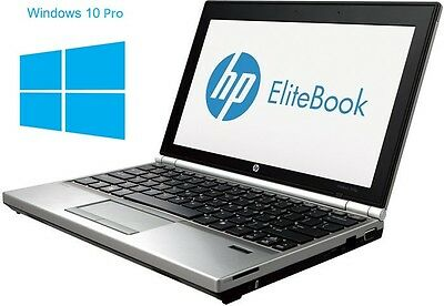 HP Elitebook 2170p - Core i7-3667U @ 2,0 GHz - 4GB RAM - 180GB SSD - Win10Pro
