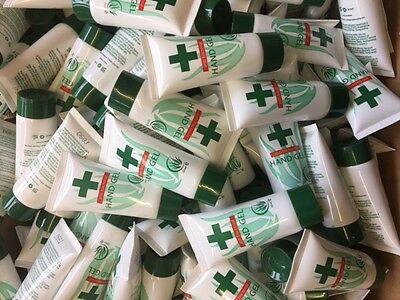 20 Tubes Anti Bacterial Hand Gel Sanitiser 30ml- WHOLESALE PRICES DIRECT-£3.79!!