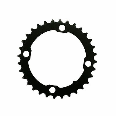 Truvativ Chainring Mtb 32T 4 Bolt 104Mm Bcd Steel Matte Black: Black 32T