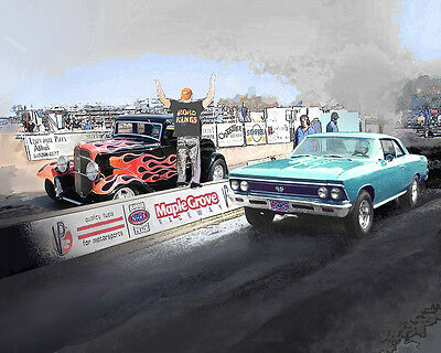 Put YOUR RIDE at Pinks All Out Drag Race Venue