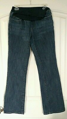 Motherhood maternity Jeans, Size M . Over belly Stretch.GUC