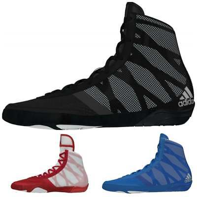 Adidas Boxing Pretereo III Boxing Boots Black Blue Red