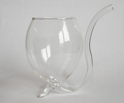 Beer Pipe Brandy Pipe Drinking Glass