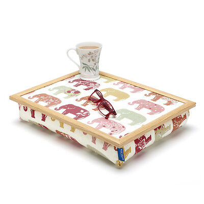 Blue Badge Co Nelly Elephant Cushioned Lap Tray