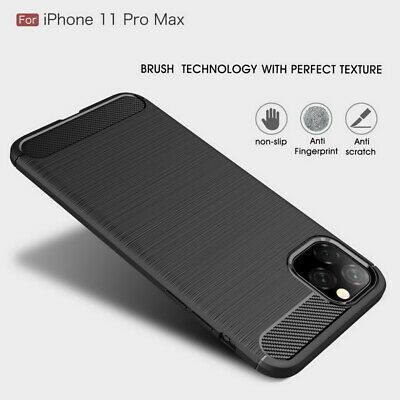 Luxury Shockproof Hybrid Rubber Silicone Soft TPU Brushed Case Cover For Phone