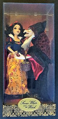 Disney Store Snow White and The Witch Doll Set - Fairytale Designer Collection