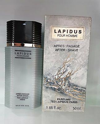 Ted Lapidus pour Homme After Shave 50ml no Spray - Vintage New & Rare