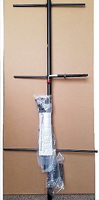 Yagi Directional Base Antenna VHF 150-174MHz 3 elements 7.1dBd N Female Black