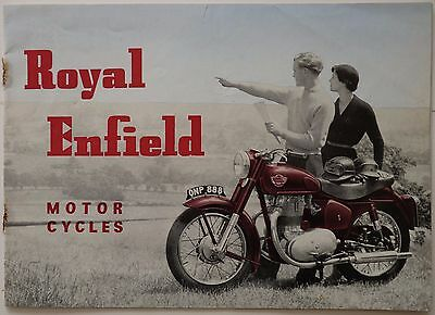 Royal Enfield Motor Cycles - 1956 Bullet Super Meteor 500 Twin Clipper Ensign