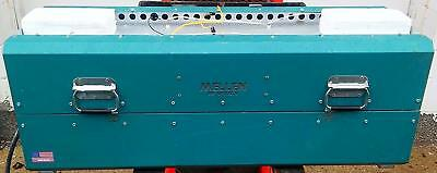 MELLEN SV TV09-6X42-1Z TUBE SPLIT FURNACE KILN 48W x 7Radius Adjustable FREESHIP