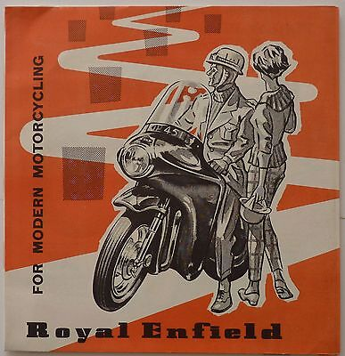 Royal Enfield For Modern Motorcycling Brochure - 1961