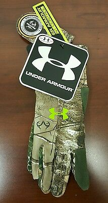 Under Armour Scent Control Gloves Large