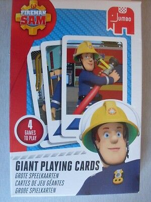 Fireman Sam  Giant Playing Cards   New