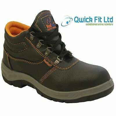 New Mens Safety Ultra Lightweight Work Ankle Boots Steel Toe Cap Shoes Trainers