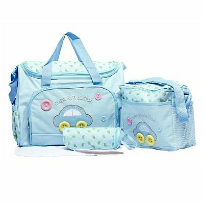 Asiacc Multi Function Baby Diaper Nappy Changing Mat Bag Mummy Tote Handbag