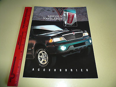 Lincoln Accessories Navigator Sales Brochure