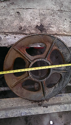 "McKissick STYLE 21"" OILFIELD SHEAVE X 6"" BORE"