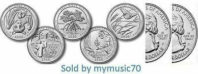 2016 National Park Quarters - Complete 10 Quarters P&D Set - US Mint **IN HAND**