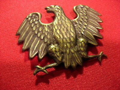 Poland Polish Army Cap Badge East Front ww2,screw back