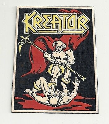 KREATOR Endless Pain synthetic rubber patch RARE!!!