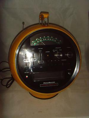 Stunning Prinz Sound Stereo Module space helmet radio 8 track player WORKING!!!