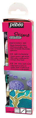 Pebeo Discovery Set FANTASY PRISME Multi Surface Craft Paint 6 x 20ml