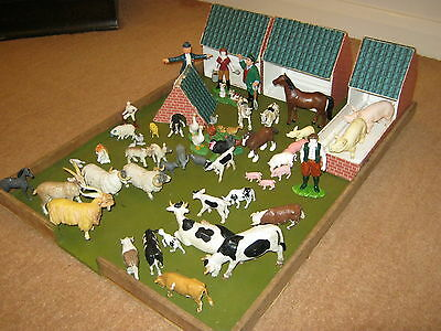 model farm yard and animals