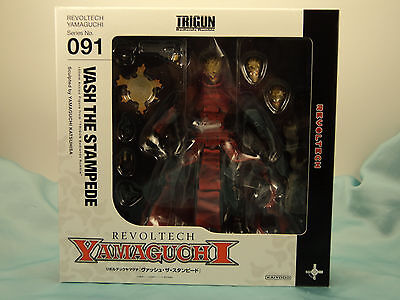 Trigun Vash the Stampede Revoltech #91 *Brand New/Sealed* Kaiyodo **authentic**