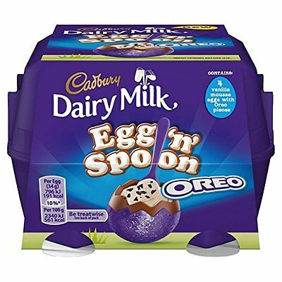 Cadbury Dairy Milk Egg 'n' Spoon with Oreo, 136 g