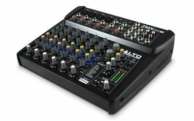 ALTO ZMX122FX Stereo Line Mixer w/ Effects IN STOCK FREE FAST SHIP